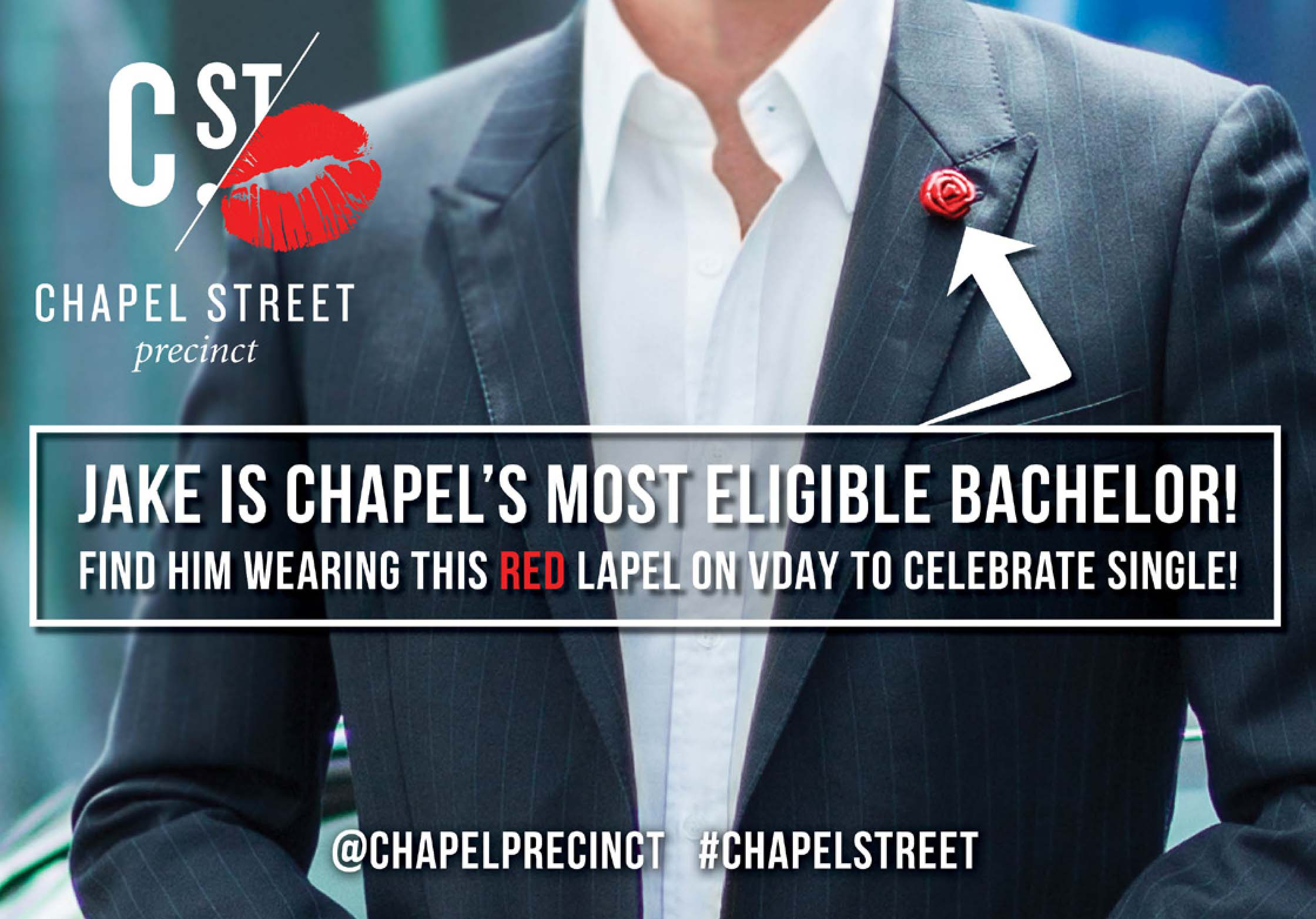 Chapel Street Valentines Day Campaign