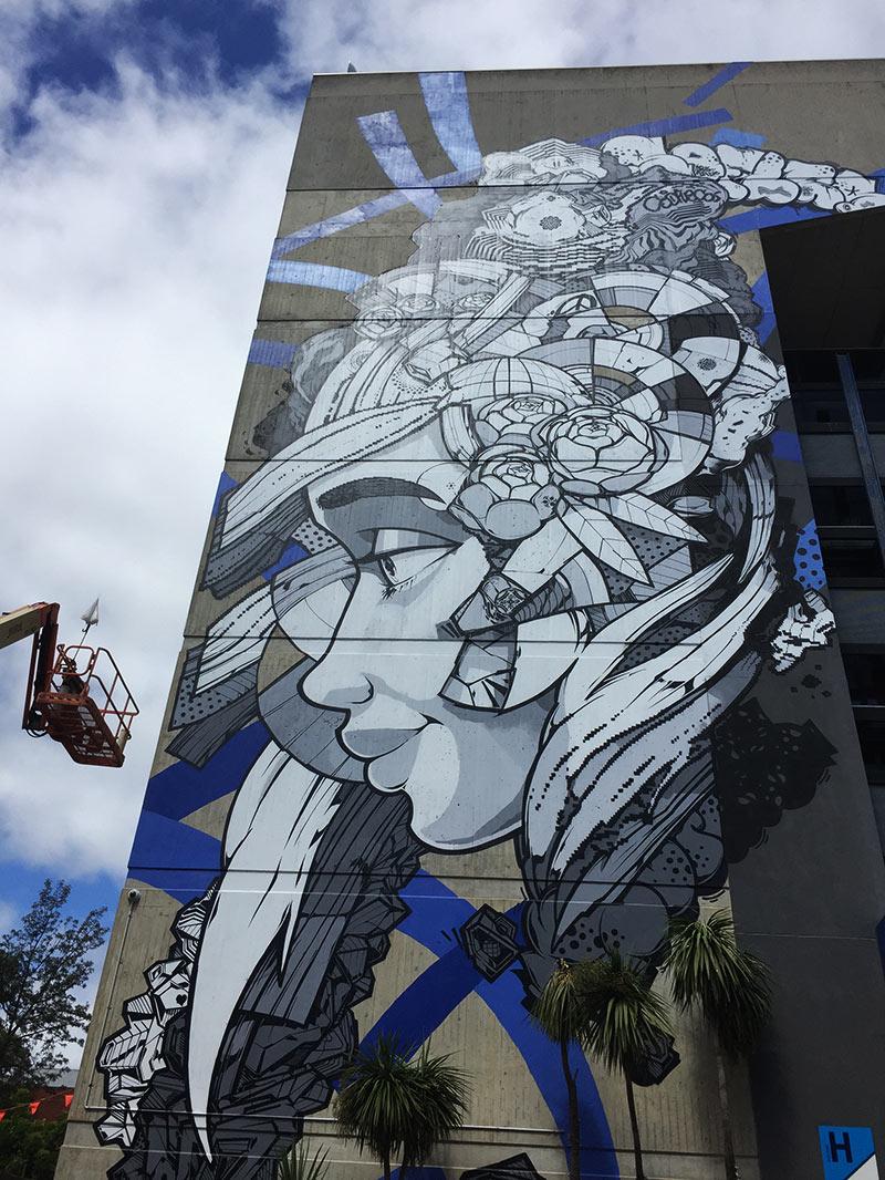 Chapel Street Art Mural