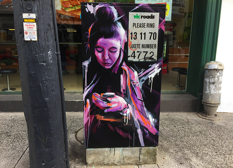Street Art in Prahran