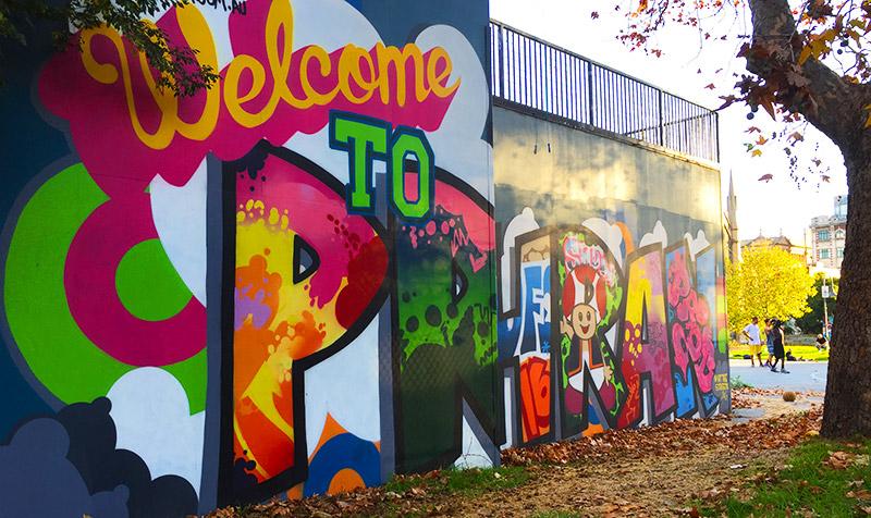 Street Art in Prahran