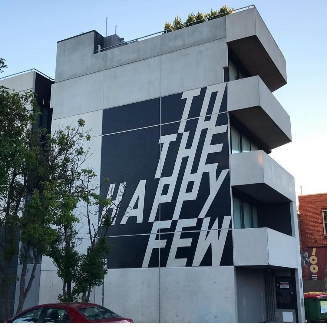 To the Happy Few Mural