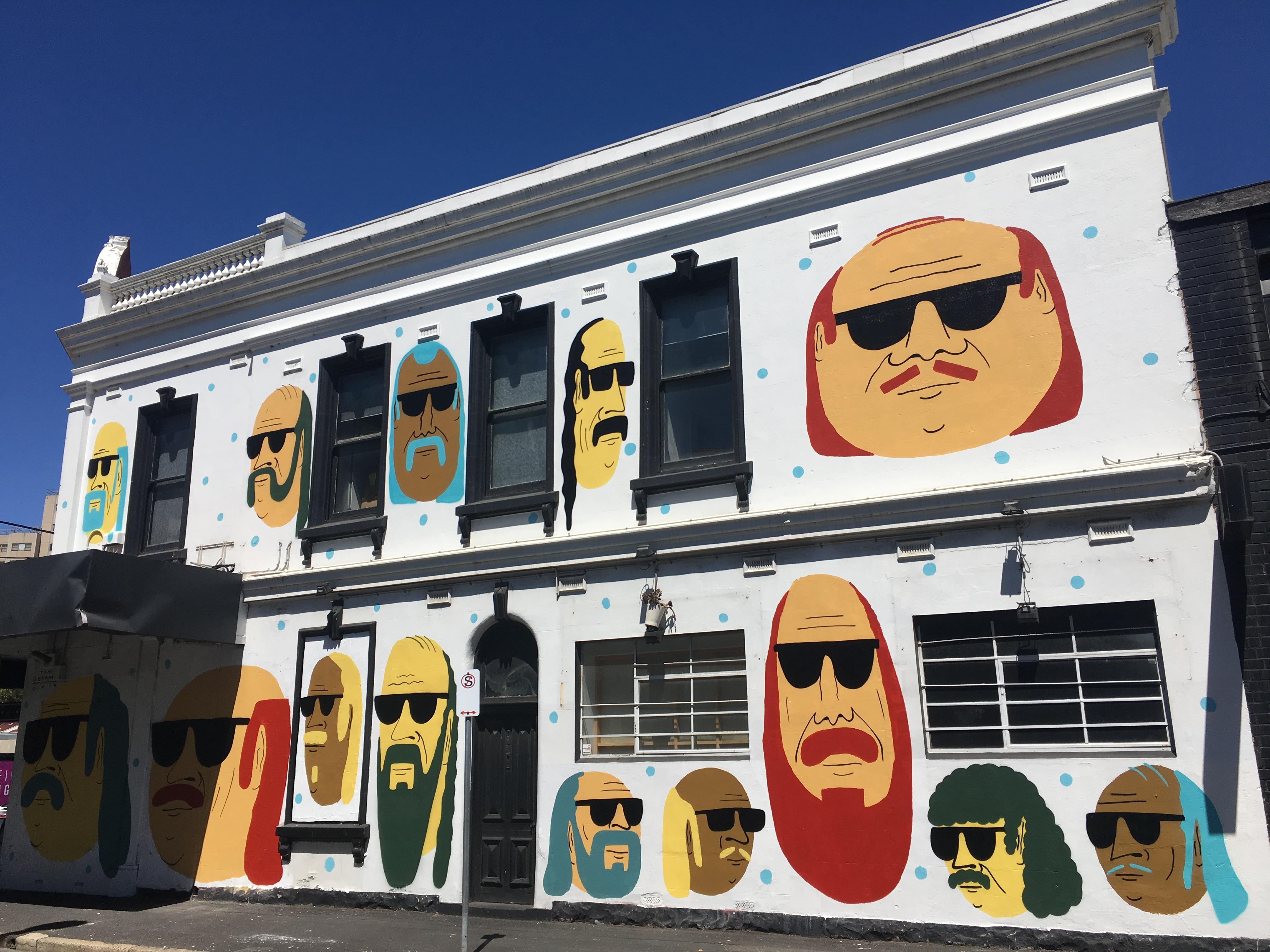 Tom Gerrard mural