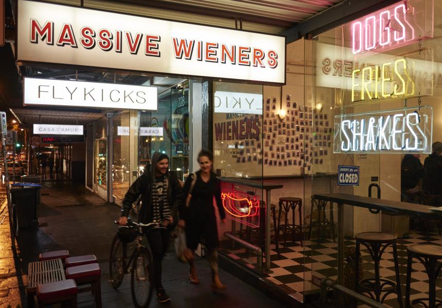 Massive Wieners Chapel Street