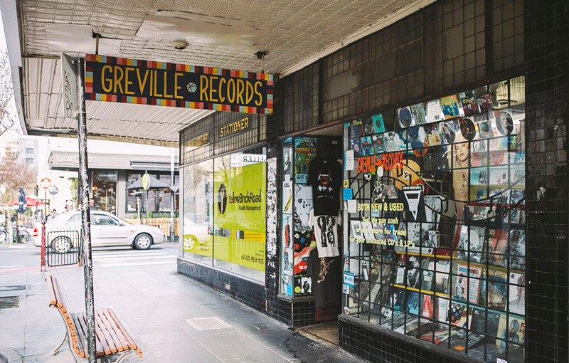 Greville-Records Christmas Shopping