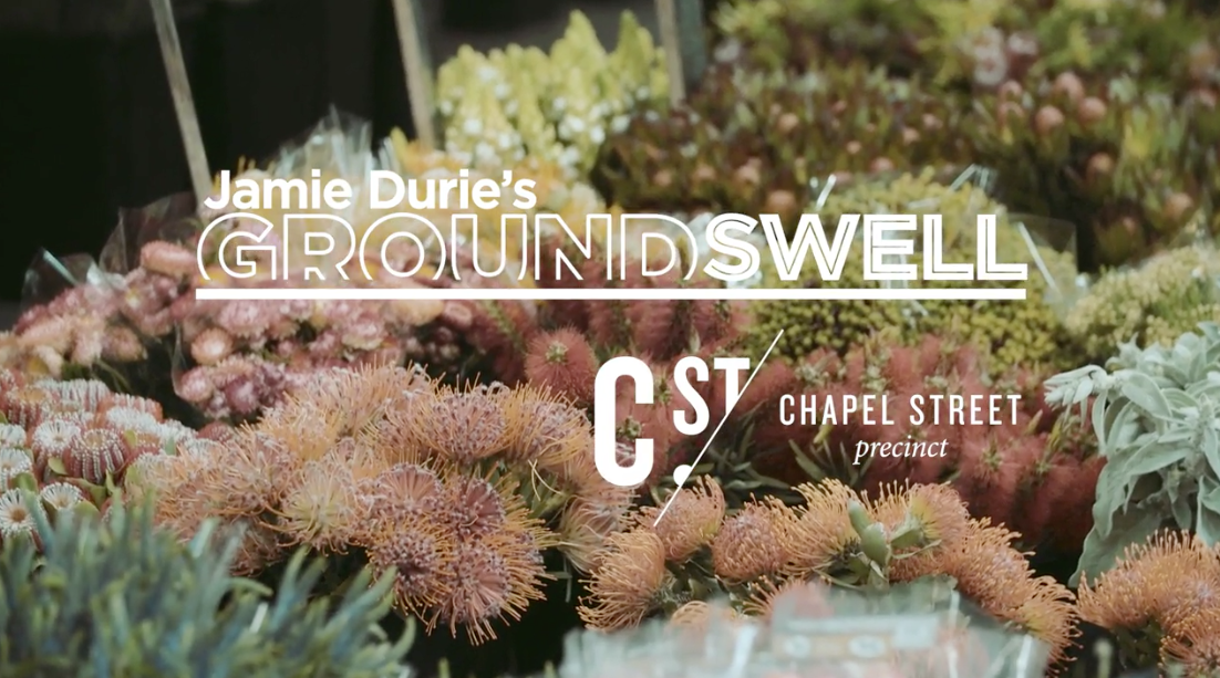Jamie Durie's Groundswell Comes to Chapel Street Precinct