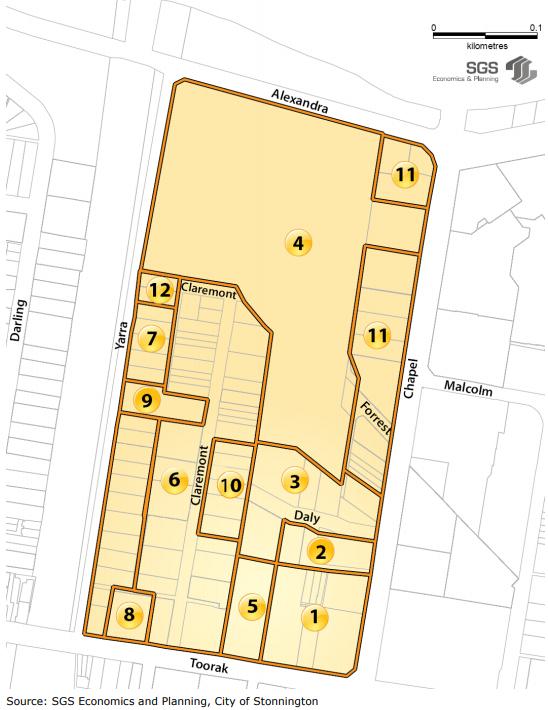 Forrest Hill Precinct Map