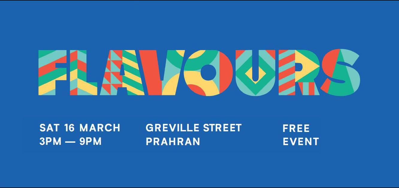 Flavours Festival 2019 Greville Street Prahran